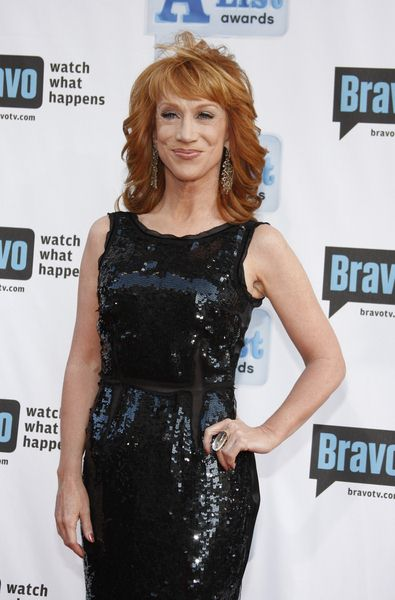 Kathy Griffin at Bravo's 2nd Annual A-List Awards at Orpheum Theatre in Los Angeles, CA, USA