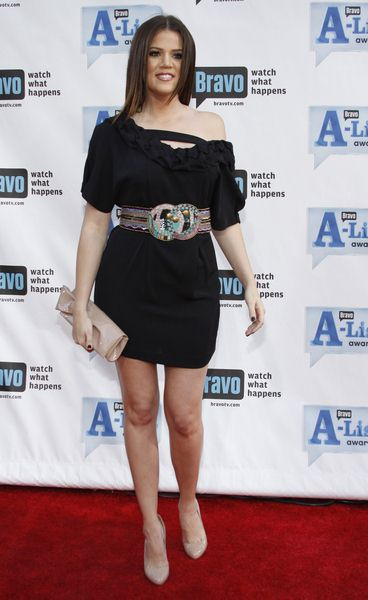 Khloe Kardashian at Bravo's 2nd Annual A-List Awards at Orpheum Theatre in Los Angeles, CA, USA