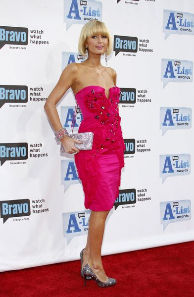 Paris Hilton at Bravo's 2nd Annual A-List Awards at Orpheum Theatre in Los Angeles, CA, USA