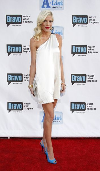 Tori Spelling at Bravo's 2nd Annual A-List Awards at Orpheum Theatre in Los Angeles, CA, USA