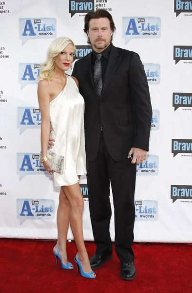 Tori Spelling, Dean McDermott at Bravo's 2nd Annual A-List Awards at Orpheum Theatre in Los Angeles, CA, USA