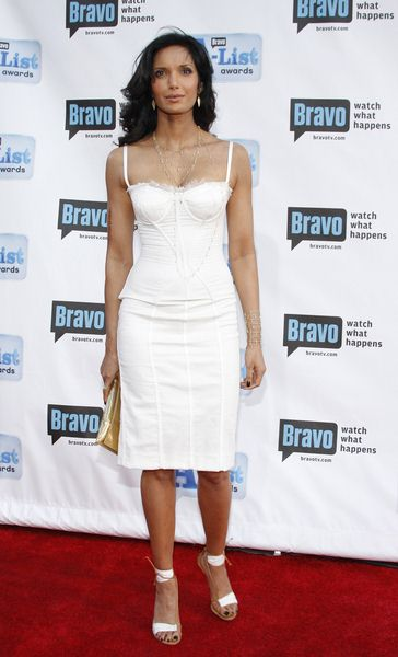 Padma Lakshmi at Bravo's 2nd Annual A-List Awards at Orpheum Theatre in Los Angeles, CA, USA
