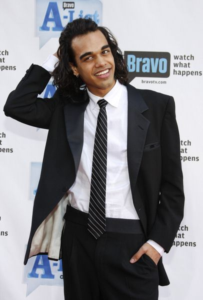 Sanjaya Malakar at Bravo's 2nd Annual A-List Awards at Orpheum Theatre in Los Angeles, CA, USA