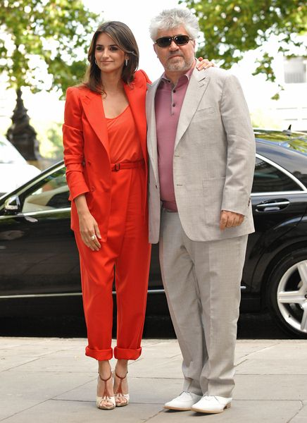 Penelope Cruz, Pedro Almodovar at 'Broken Embraces' UK Premiere - Sommerset House, London, UK