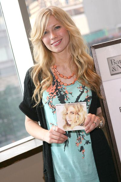 Brooke White at Brooke White Promotes Her Debut Album 'High Hopes and Heartbreak' at Barnes & Noble on Broadway in New York City, NY, USA