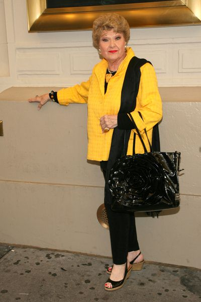 Marilyn Maye at 'Burn the Floor' Opening Night on Broadway - Longacre Theatre, 220 West 48th Street, New York City, NY, USA