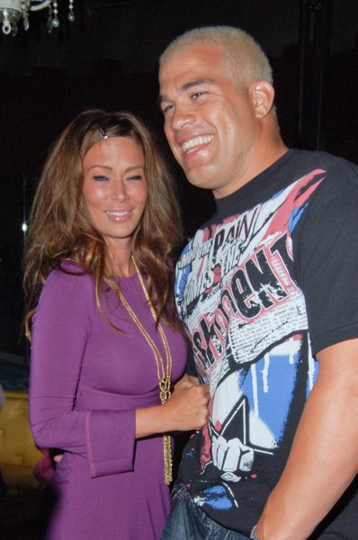 Jenna Jameson, Tito Ortiz at Celebrity Sightings at The Kress in Hollywood on August 1, 2009 - The Kress, Hollywood, CA, USA