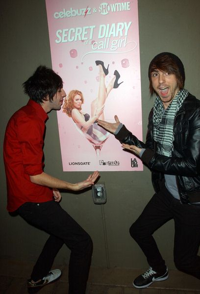 Jack Barakat, Alex Gaskarth at Celebuzz and Showtime Celebrates The Second Season Launch Of 'Secret Diary Of A Call Girl' - Bardot, Hollywood, CA. USA