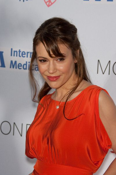 Alyssa Milano at Children Mending Hearts at House of Blues in Los Angeles, CA, USA
