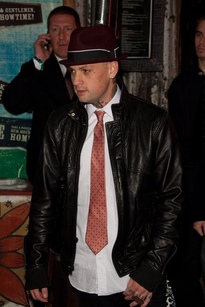 Benji Madden at Children Mending Hearts at House of Blues in Los Angeles, CA, USA