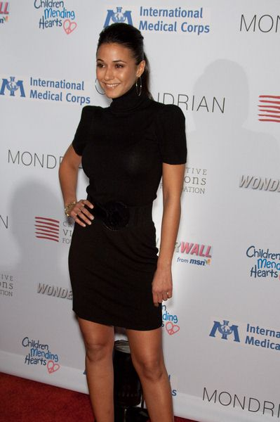 Emmanuelle Chriqui at Children Mending Hearts at House of Blues in Los Angeles, CA, USA