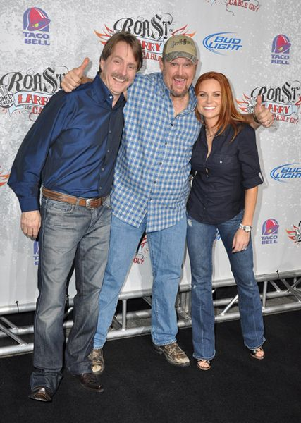 Jeff Foxworthy, Larry The Cable Guy at Comedy Central Presents 'The Roast of Larry the Cable Guy' - Warner Brothers Studios, Burbank, CA, USA