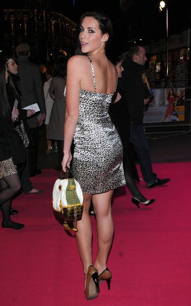 Katie Green at 'Confessions of a Shopaholic' UK Premiere at Empire, Leicester Square, London, UK