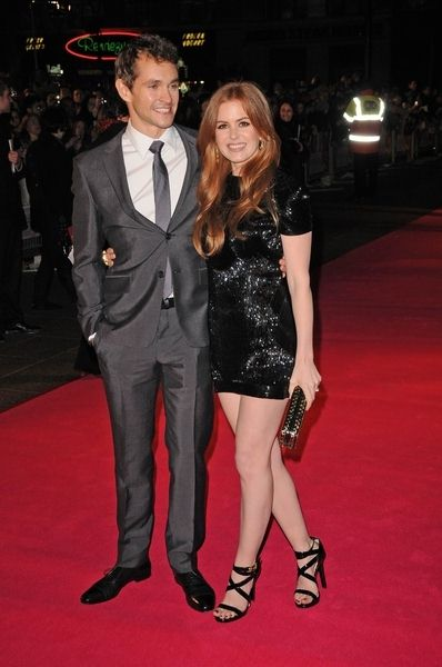 Hugh Dancy, Isla Fisher at 'Confessions of a Shopaholic' UK Premiere at Empire, Leicester Square, London, UK