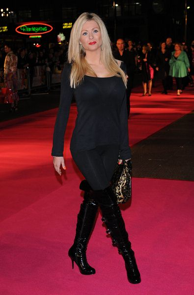 Nicola McLean at 'Confessions of a Shopaholic' UK Premiere at Empire, Leicester Square, London, UK
