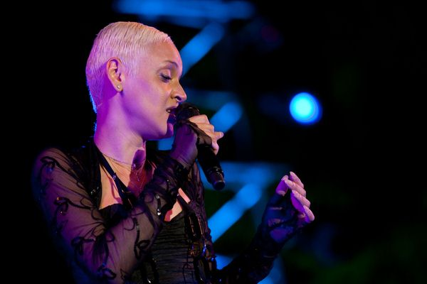 Mariza at Cool Jazz Fest at Parque Marechal Carmona in Cascais - Parque Marechal Carmona, Cascais, Portugal