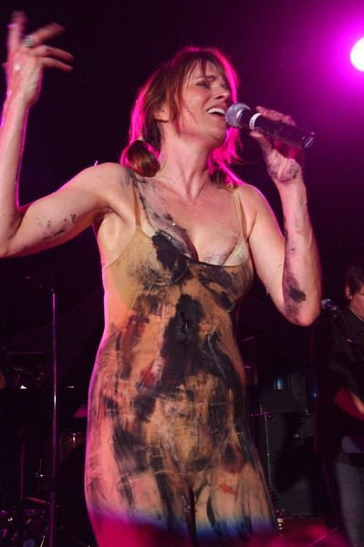 Lucy Lawless at Creation Entertainment Presents Lucy Lawless Live at The Roxy 'The Pleasuredome' - Roxy Theater, West Hollywood, CA. USA
