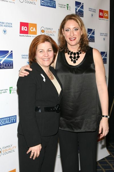 Christine Quinn, Judy Gold at 'Defying Inequality: The Broadway Concert' - The Gershwin Theatre, 222 West 51st Street, New York City, NY, USA