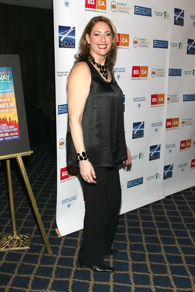 Judy Gold at 'Defying Inequality: The Broadway Concert' - The Gershwin Theatre, 222 West 51st Street, New York City, NY, USA