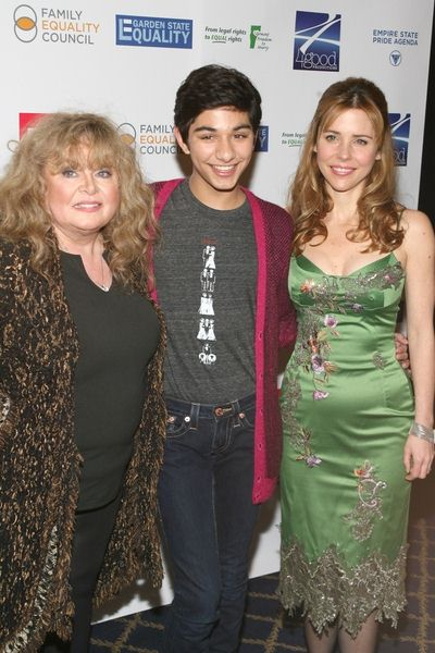Sally Struthers, Mark Indelicato, Kerry Butler at 'Defying Inequality: The Broadway Concert' - The Gershwin Theatre, 222 West 51st Street, New York City, NY, USA