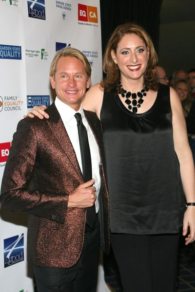 Carson Kressley, Judy Gold at 'Defying Inequality: The Broadway Concert' - The Gershwin Theatre, 222 West 51st Street, New York City, NY, USA