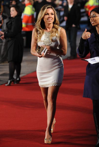 Adele Silva at 'Duplicity' London Premiere - Empire, Leicester Square, London, UK