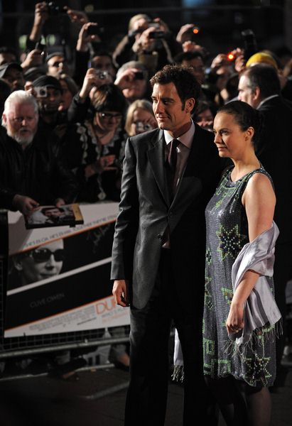 Clive Owen, Sara Jane Fenton at 'Duplicity' London Premiere - Empire, Leicester Square, London, UK