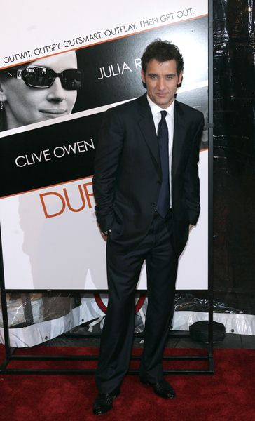 Clive Owen at 'Duplicity' New York Premiere at Ziegfeld Theater, New York City, NY, USA