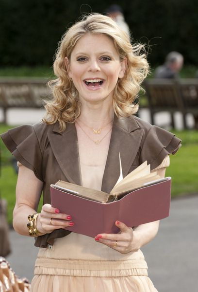 Emilia Fox at Emilia Fox 'Irresistible Reads' Campaign - Photocall - Galaxy Book Campaign, London, UK