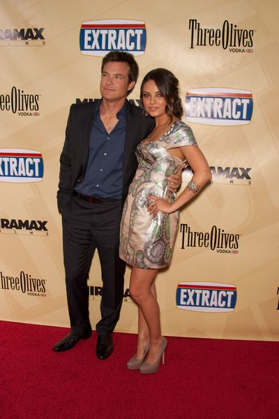 Jason Bateman, Mila Kunis at 'Extract' Los Angeles Premiere - Arrivals - Arclight Hollywood, Hollywood, CA, USA