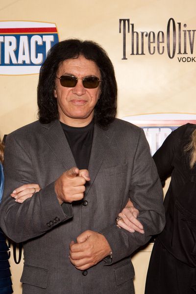 Gene Simmons at 'Extract' Los Angeles Premiere - Arrivals - Arclight Hollywood, Hollywood, CA, USA