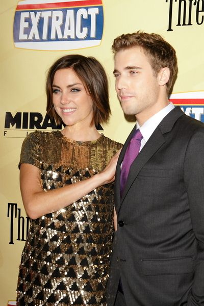 Jessica Stroup, Dustin Milligan at 'Extract' Los Angeles Premiere - Arrivals - Arclight Hollywood, Hollywood, CA, USA
