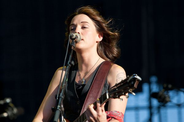 Brandi Carlile at Festival SuperBock SuperRock at Estadio do Restelo in Belem, Portugal