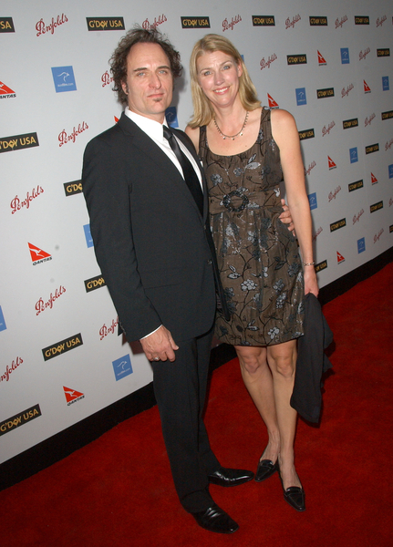 Kim Coates with wife at G'Day USA Australia Week 2009 Black Tie Gala - Hollywood & Highland Grand Ballroom, Hollywood, CA. USA