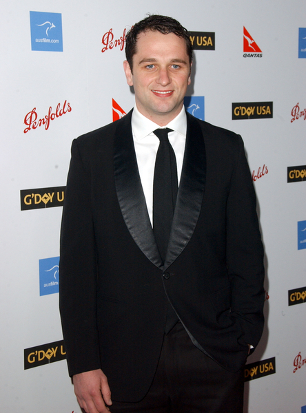 Matthew Rhys at G'Day USA Australia Week 2009 Black Tie Gala - Hollywood & Highland Grand Ballroom, Hollywood, CA. USA