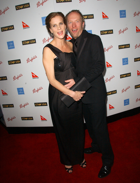 Rachel Griffiths, Andrew Taylor at G'Day USA Australia Week 2009 Black Tie Gala - Hollywood & Highland Grand Ballroom, Hollywood, CA. USA