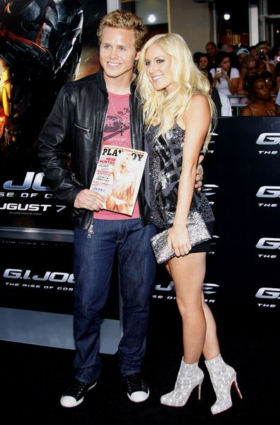 Spencer Pratt, Heidi Montag at 'G.I. Joe: The Rise Of Cobra' Los Angeles Premiere - Arrivals - Grauman's Chinese Theater, Hollywood, CA. USA