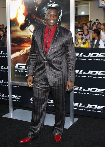 Adewale Akinnuoye-Agbaje at 'G.I. Joe: The Rise Of Cobra' Los Angeles Premiere - Arrivals - Grauman's Chinese Theater, Hollywood, CA. USA