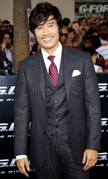 Byung-hun Lee at 'G.I. Joe: The Rise Of Cobra' Los Angeles Premiere - Arrivals - Grauman's Chinese Theater, Hollywood, CA. USA