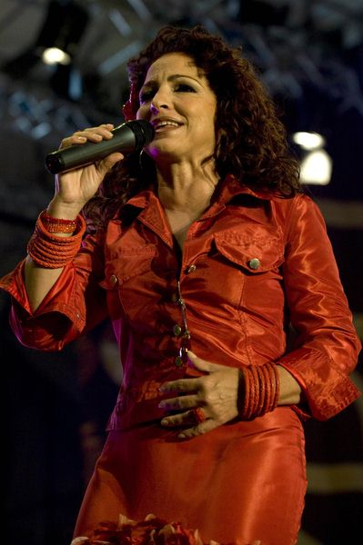 Gloria Estefan at Gloria Estefan in Concert at the Latino Americando Festival in Milan, Italy
