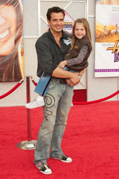 Antonio Sabato Jr at 'Hanna Montana The Movie' World Premiere - El Capitan Theatre, Hollywood, CA, USA