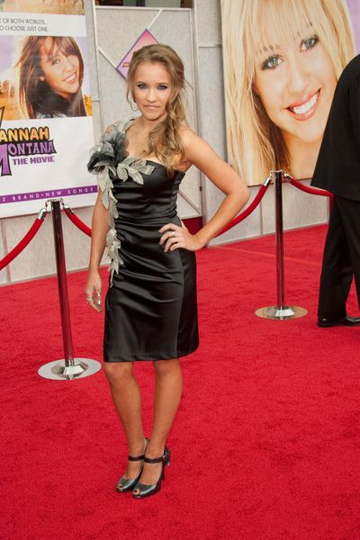 Emily Osment at 'Hanna Montana The Movie' World Premiere - El Capitan Theatre, Hollywood, CA, USA