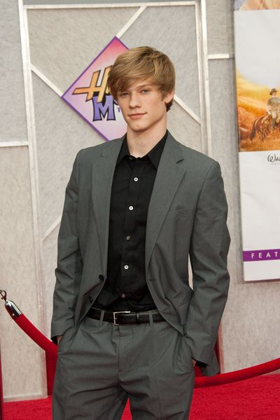 Lucas Till at 'Hanna Montana The Movie' World Premiere - El Capitan Theatre, Hollywood, CA, USA