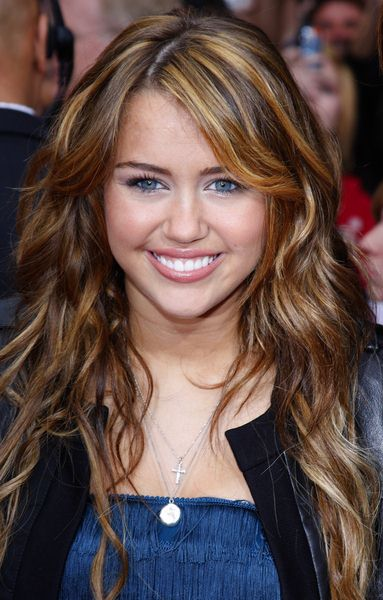 Miley Cyrus at 'Hanna Montana The Movie' World Premiere - El Capitan Theatre, Hollywood, CA, USA