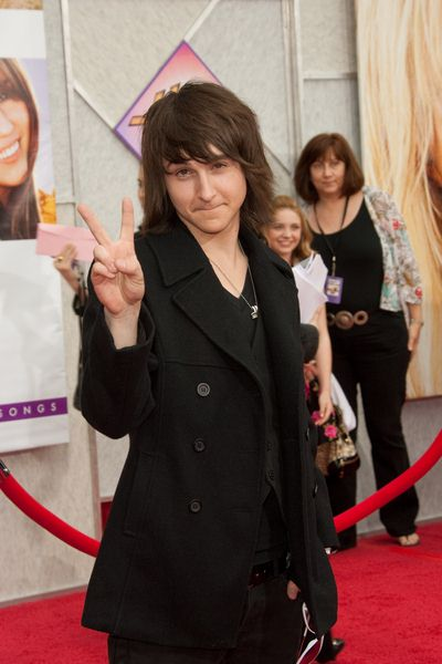 Mitchel Musso at 'Hanna Montana The Movie' World Premiere - El Capitan Theatre, Hollywood, CA, USA