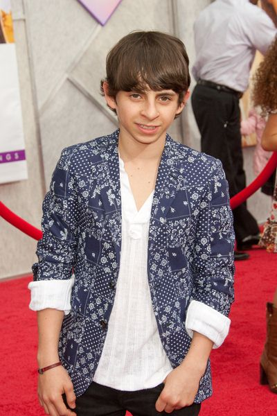 Moises Arias at 'Hanna Montana The Movie' World Premiere - El Capitan Theatre, Hollywood, CA, USA
