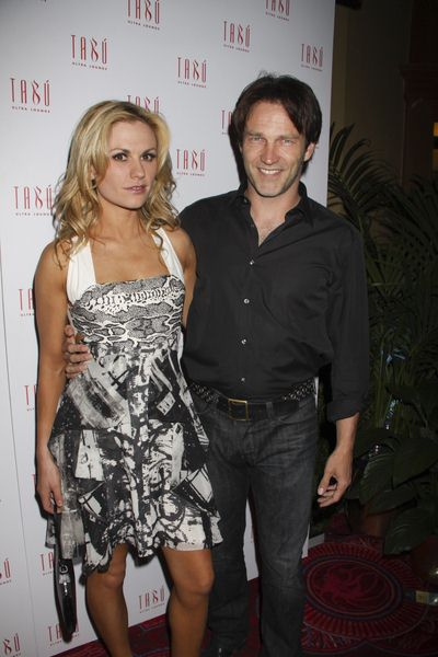 Anna Paquin, Stephen Moyer at HBO's 'True Blood' Cast Party - TABU Ultra Lounge at the MGM Hotel and Casino, Las Vegas, NV, USA