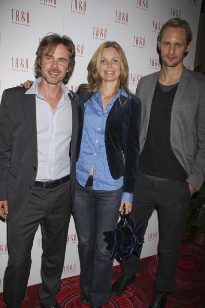 Sam Trammell, Kristin Bauer, Alexander Skarsgard at HBO's 'True Blood' Cast Party - TABU Ultra Lounge at the MGM Hotel and Casino, Las Vegas, NV, USA