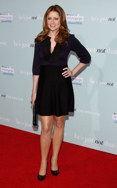 Jenna Fischer at 'He's Just Not That Into You' World Premiere at Grauman's Chinese Theater, Hollywood, CA, USA
