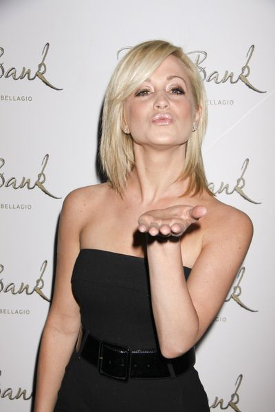 Kellie Pickler at Hilary Scott 25th Birthday Celebration at The Bank Nightclub at the Bellagio Hotel and Casino, Las Vegas, NV, USA